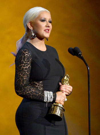 image for Christina Aguilera acusa a Lady Gaga de destruir su carrera