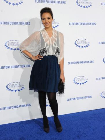 image for Recrea este look: Jessica Alba