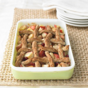 image for Tarta de manzana, nueces y queso cheddar