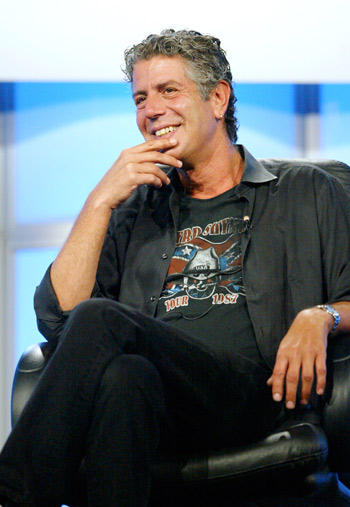 image for Hombres exitosos: Anthony Bourdain