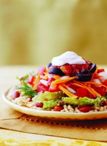 "image for ""Tostada"" vegetariana"