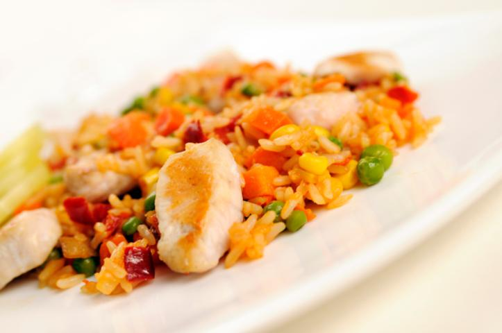 image for Pollo con arroz y verduras