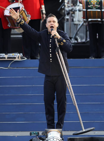 image for El nuevo disco de Robbie Williams