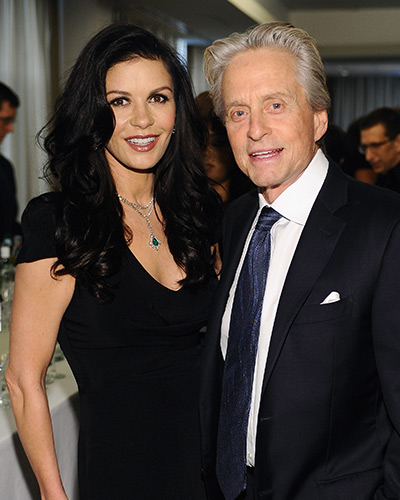 image for Michael Douglas y la actriz Catherine Zeta-Jones se separan