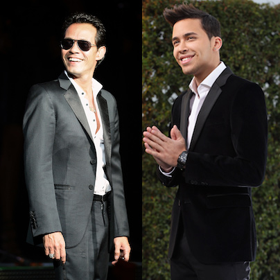 image for Marc Anthony y Prince Royce juntos en concierto