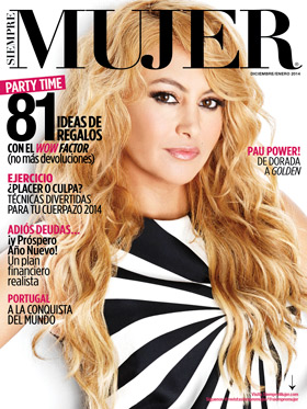image for Paulina Rubio, de dorada a <i>golden</i>