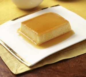 image for Flan de calabaza dulce