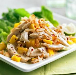 image for Ensalada de pollo y mango