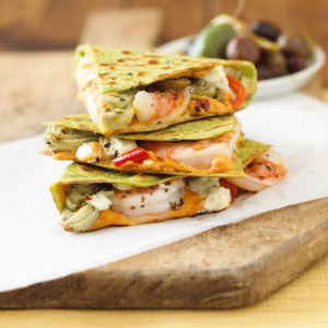 image for Quesadillas de camarones
