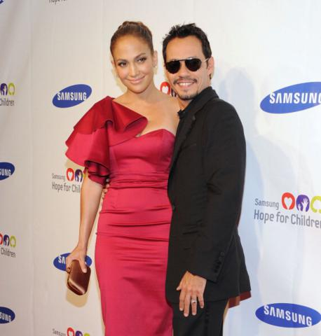image for Jennifer Lopez y Marc Anthony anuncian su separación