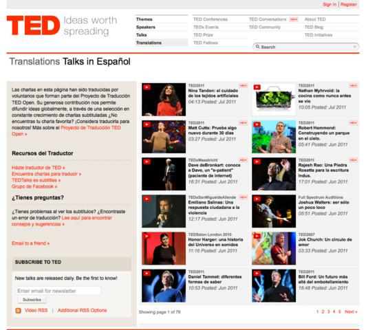 image for Lo mejor de TED