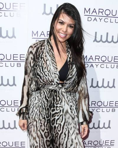 image for Kourtney Kardashian solidaria por una buena causa