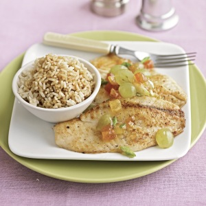 image for Tilapia con uvas