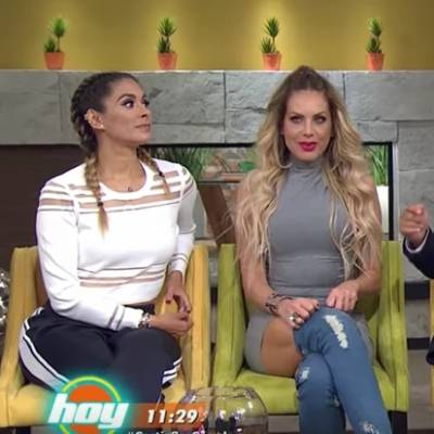 image for Galilea Montijo enfrentada a Lorena Herrera en pleno directo (VIDEO)