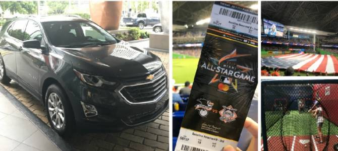image for De camino al All-Star Game de la MLB con el nuevo Chevrolet Equinox