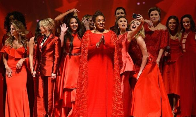 image for Go Red For Women Red Dress Collection 2018: Así se vivió el show en Nueva York