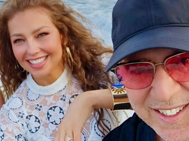 image for Tommy Mottola comparte un video íntimo de Thalía (VIDEO)