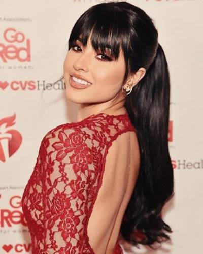 image for Go Red For Women Red Dress Collection 2019: Becky G nos recuerda la importancia de prestar atención a nuestro corazón