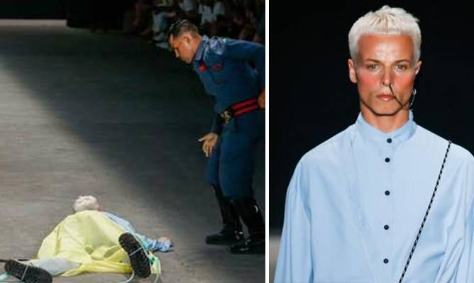 image for Muere un modelo brasileño en pleno desfile (VIDEO)