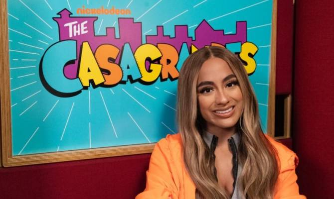 "image for Ally Brooke pone voz a la canción de ""The Casagrandes"" (Nickelodeon)"