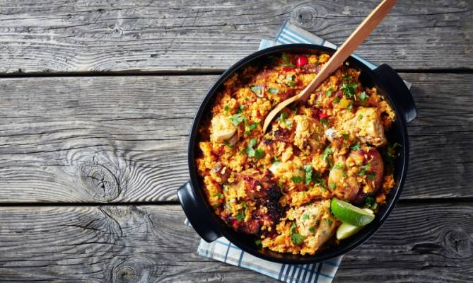 image for Receta de arroz con pollo, por el chef James