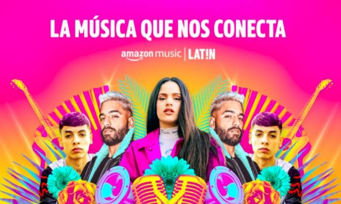 image for Amazon Music acaba de lanzar Amazon Music LAT!N