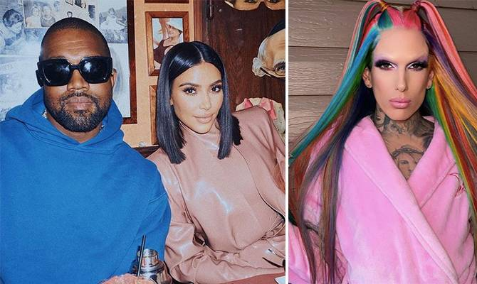 image for Jeffree Star responde a los rumores de romance con Kanye West