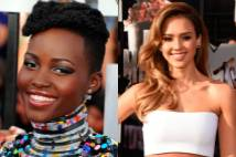thumbnail for Luce como Lupita Nyong'o y Jessica Alba en los MTV Movie Awards